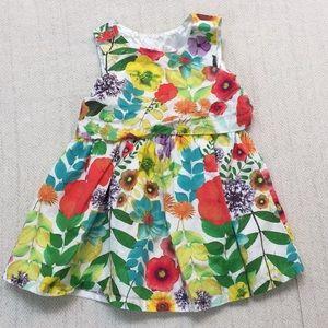 CHEROKEE floral sleeveless summer dress